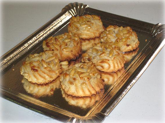 Pastas de piñones