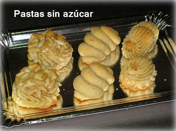 Pastas sin azúcar