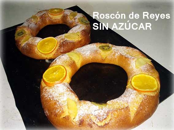 Roscón de Reyes sin azúcar. Encárgalo