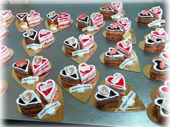 Tartitas de San Valentín