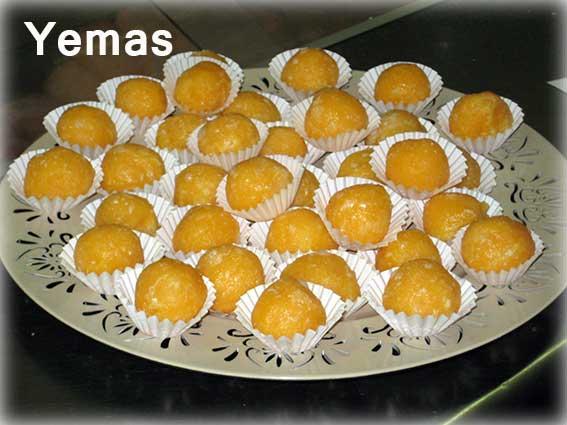 Yemas caseras